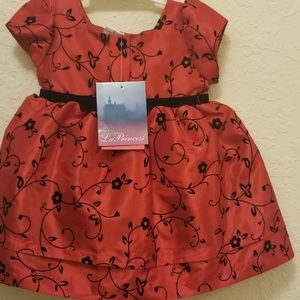 Baby dress with matching underwear